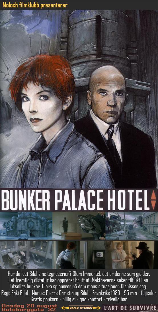 Bunker Palace Hôtel affiche